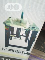 "12"" Three Phase Table Saw With Table Extension. Electric Motor 