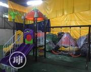 Funfair Party Outdoor Playhouse With 2 Sitters Swing | Toys for sale in Lagos State, Ikeja