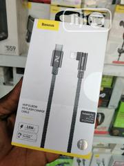 18W PD Quick Charge iPhone To USB-C Cable | Accessories for Mobile Phones & Tablets for sale in Lagos State, Ikeja