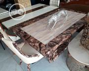 Executive Marble Dinning With 6 Chairs | Furniture for sale in Lagos State, Ajah
