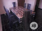 Marble Top/Stainless Base Dinning Table With 6 Chairs. | Furniture for sale in Lagos State, Ajah