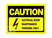 Safety Sign   Manufacturing Services for sale in Lagos State, Mushin