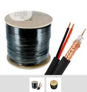 RG-59 Pure Copper With Power Cctv Cable By 305mtrs | Electrical Equipment for sale in Lagos State, Ojo