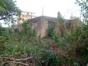 Olorunda Market Area After Akobo. 1/2 Plot With Uncompleted Structure | Land & Plots For Sale for sale in Oyo State, Lagelu