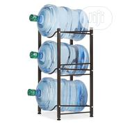 3 Layer Water Cooler Rack Bottle Storage Rack Assembly Black | Furniture for sale in Lagos State, Lagos Island