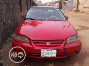 Honda Accord 2002 Red | Cars for sale in Lagos State, Ikeja