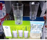 24 Pack Fancy Glass Cups | Kitchen & Dining for sale in Lagos State, Alimosho