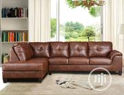 L Shape Sofa Leather | Furniture for sale in Lagos State, Ikeja