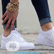 Nike, Air Force White Sneakers   Shoes for sale in Lagos State, Ajah