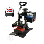 Swing Away Cap Heat Press Machine | Printing Equipment for sale in Abuja (FCT) State, Apo District
