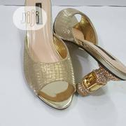 Half Round Block Slippers | Shoes for sale in Lagos State, Isolo