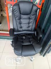Original Leather Massaging Office Chair | Furniture for sale in Lagos State, Ojo