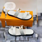 Hermes Trendy White Slippers | Shoes for sale in Lagos State, Lagos Mainland