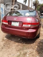 Honda Accord 2003 2.4 Automatic Red | Cars for sale in Lagos State, Ikoyi
