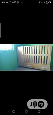 Tokunbo Uk Used Baby Cot With Side Wardrobe And Drawer | Children's Furniture for sale in Lagos State, Lagos Mainland