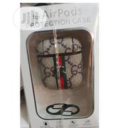 Airpod Luxury Leather Case With Hook | Accessories for Mobile Phones & Tablets for sale in Lagos State, Ikeja