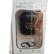 Airpod Luxury Leather Case With Hook | Accessories & Supplies for Electronics for sale in Lagos State, Ikeja