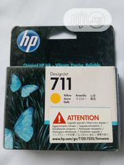 Hp Printer Ink 711 Yellow | Accessories & Supplies for Electronics for sale in Lagos State, Ikeja