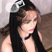 Human Hair Frontal Wig (With Baby Hair -- Mavino Wig)   Hair Beauty for sale in Lagos State, Surulere