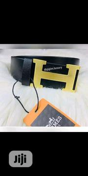 Hermes Belt Black | Clothing Accessories for sale in Lagos State, Surulere