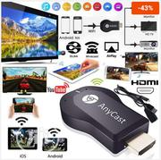 Anycast M4 Plus Airplay Wifi Display Anycast TV HDMI Multi-display   Accessories & Supplies for Electronics for sale in Lagos State, Ikeja
