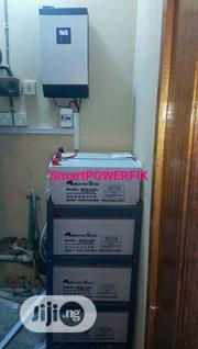 5kva 48v Inverter Installation With Rugged Multipower Batteries | Building & Trades Services for sale in Abuja (FCT) State, Lokogoma
