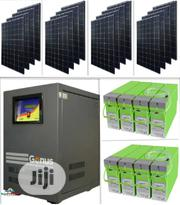 Go Solar..Genus 5kva Inverter Installation With MONBAT Batteries | Building & Trades Services for sale in Abuja (FCT) State, Utako