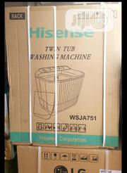 Hisense Washing Machine Twin Tub(Wsja751) | Home Appliances for sale in Lagos State, Ikeja