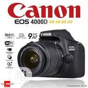 Canon Eos 4000d 18MP APS-C CMOS Camera With EF-S 18 - 55mm Lens | Photo & Video Cameras for sale in Abuja (FCT) State, Apo District