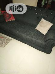 Black Seven Seater Chair With Colourful Throw Pillows | Home Accessories for sale in Lagos State, Ojodu