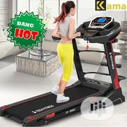 High Quality 2.5HP Electric Treadmill With Massager,Inclined,Mp3 Etc | Sports Equipment for sale in Lagos State, Ifako-Ijaiye