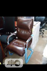 Swinging Quality Visitors Leather Chair | Furniture for sale in Lagos State, Ojo