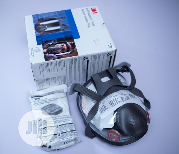 3M Full Face Piece Mask Respirator