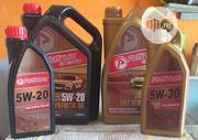 Original 5ltrs Platinum 5W-30 Fully Synthetic Engine Oil For All Cars | Vehicle Parts & Accessories for sale in Lagos State, Mushin