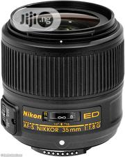 Nikon 35mm Af-s F/1.8 G Ed Lens | Accessories & Supplies for Electronics for sale in Lagos State, Lagos Island