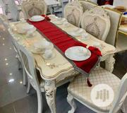Imported Wooden Dining With 6 Chairs | Furniture for sale in Lagos State, Ojo