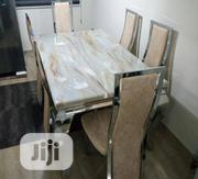 Imported Marble Dinning Table With 4 Chairs | Furniture for sale in Lagos State, Ojo