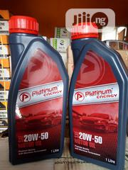 Higher Quality 1litre SAE 20W50 PLATINUM Motor Oil | Vehicle Parts & Accessories for sale in Lagos State, Mushin