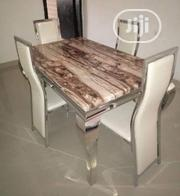 Imported Marble Dining Table With 6 Chairs | Furniture for sale in Lagos State, Ojo
