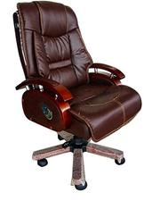 Executive Wooden and Leather Office Chair | Furniture for sale in Lagos State, Ojo