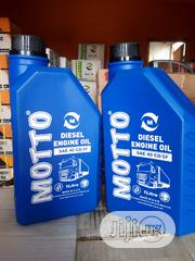 Pure Quality 1litre MOTTO Diesel Engine Oil | Vehicle Parts & Accessories for sale in Lagos State, Ojodu