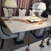 Quality Marble Dining Table, 8seaters | Furniture for sale in Lagos State, Ojo