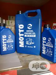 Original 5litres SAE 40 CD/SF MOTTO Diesel Engine Oil | Vehicle Parts & Accessories for sale in Lagos State, Ojodu