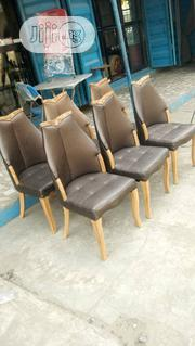Dinning Leather Chairs | Furniture for sale in Lagos State, Lekki Phase 1