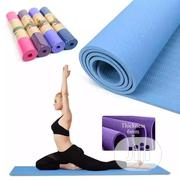 Yoga Double Non-slip Execrise Mat , Made Of Tpe Material | Sports Equipment for sale in Lagos State, Lagos Island