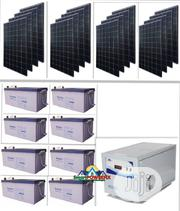 Solarpowered Luminous 5kva Inverter With GASTON Batteries Installation | Building & Trades Services for sale in Lagos State, Lekki Phase 1