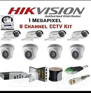 Hikvision CCTV Camera 8ch Combo Kit Wired | Security & Surveillance for sale in Lagos State, Ikeja