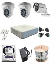 Hikvision CCTV Camera 4ch Combo Kit | Security & Surveillance for sale in Lagos State, Ikeja