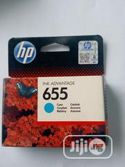 Hp Printer Ink 655 Cyan | Accessories & Supplies for Electronics for sale in Lagos State, Ikeja