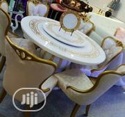 Executive Set of Rolling Marble Dining Table | Furniture for sale in Lagos State, Ojo